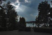 Dauniškio ežeras nuo koplyčios pusės