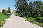 Tiltelis per Utenėlės upelį