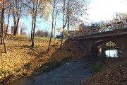 Tiltas per Krašuonos upelį prie miesto sodo