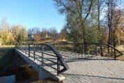 Tiltas per Krašuonos upelį miesto sode