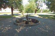 Žuvies formos fontanėlis